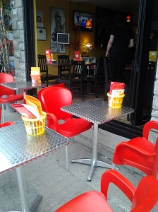 Resto Red Chairs